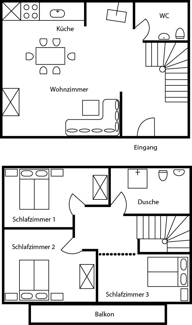 kanadische blockh user hennecke grundriss ontario. Black Bedroom Furniture Sets. Home Design Ideas